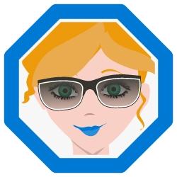 Piktogramm Brille