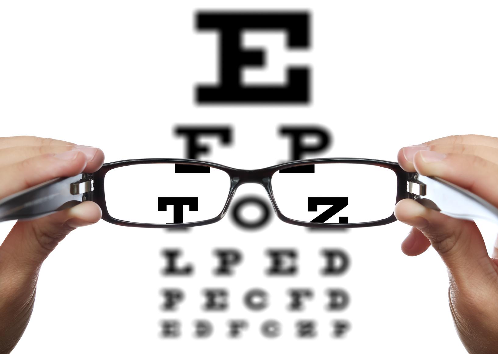 brauche ich eine brille