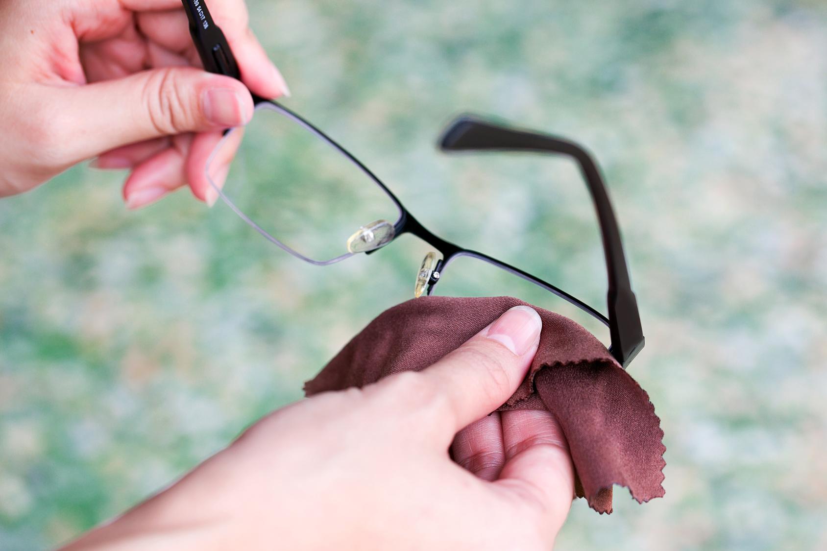 brille reinigung pflege