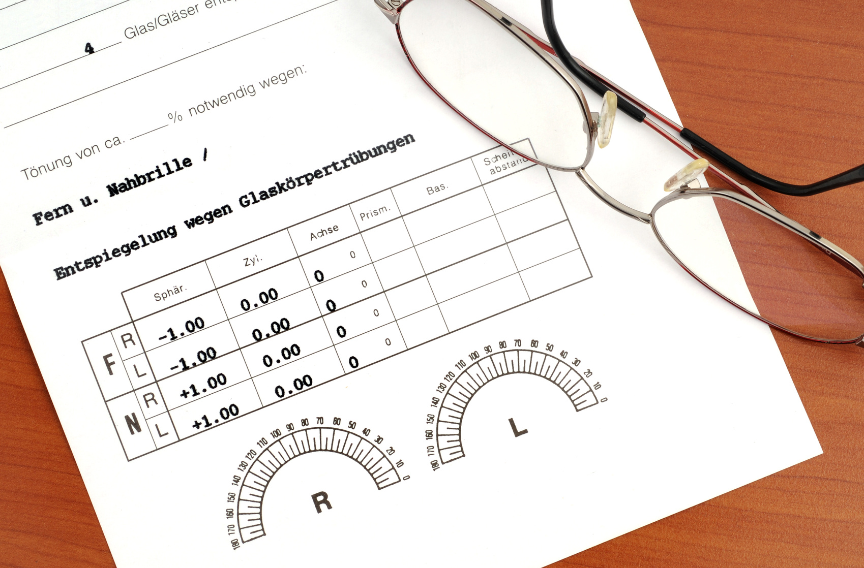 Brillenverordnung vom Arzt: Das Rezept für die Brille