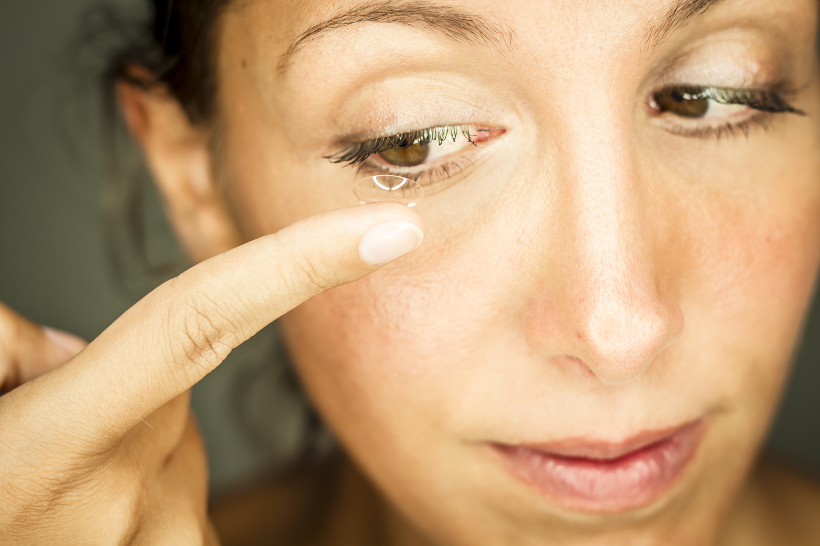 kontaktlinsen probleme