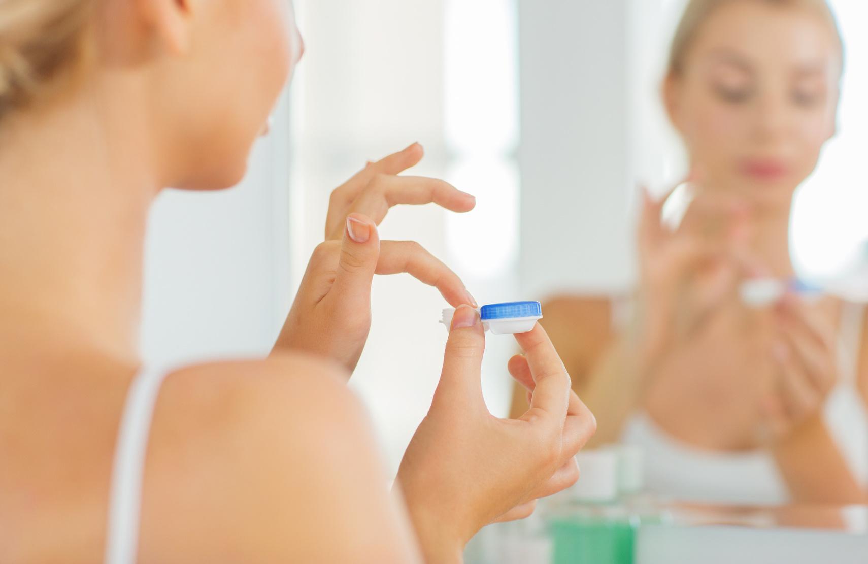 kontaktlinsenbehälter