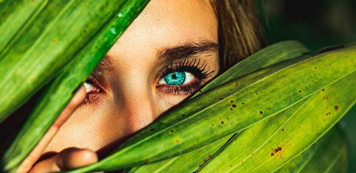 Echt farbige kontaktlinsen aussehen die Freshlook •